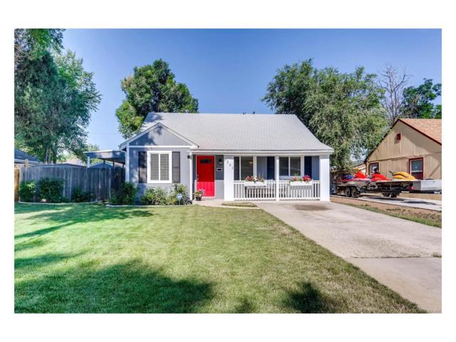 1231 Ulster Street, Denver, CO 80220 (MLS #2407016) :: 8z Real Estate