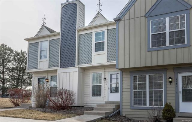9836 W Cornell Place #43, Lakewood, CO 80227 (#2417638) :: The DeGrood Team