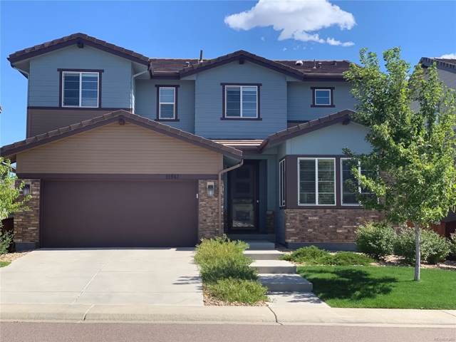 10943 Touchstone Loop, Parker, CO 80134 (#2421887) :: The HomeSmiths Team - Keller Williams