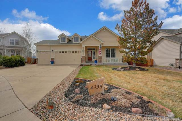 4335 Greystone Lane, Castle Rock, CO 80104 (#2422326) :: The Harling Team @ Homesmart Realty Group