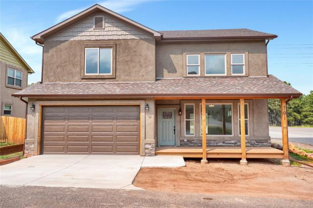 701 Valley View Drive, Woodland Park, CO 80863 (#2429427) :: The Peak Properties Group