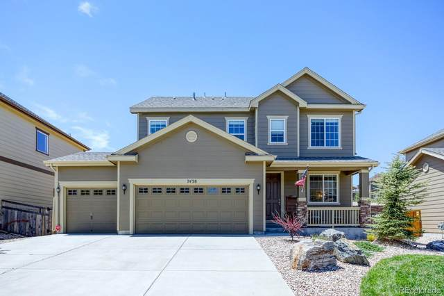 7438 Blue Water Drive, Castle Rock, CO 80108 (#2430039) :: The DeGrood Team