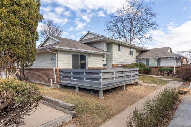 2246 S Dexter Street, Denver, CO 80222 (#2435995) :: The City and Mountains Group