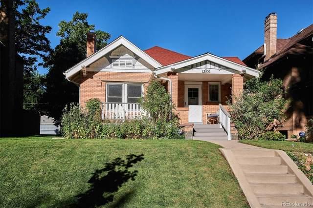1365 Madison Street, Denver, CO 80206 (#2436806) :: The HomeSmiths Team - Keller Williams
