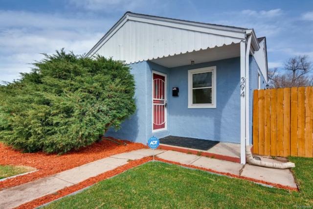 394 S Perry Street, Denver, CO 80219 (#2439660) :: The Peak Properties Group