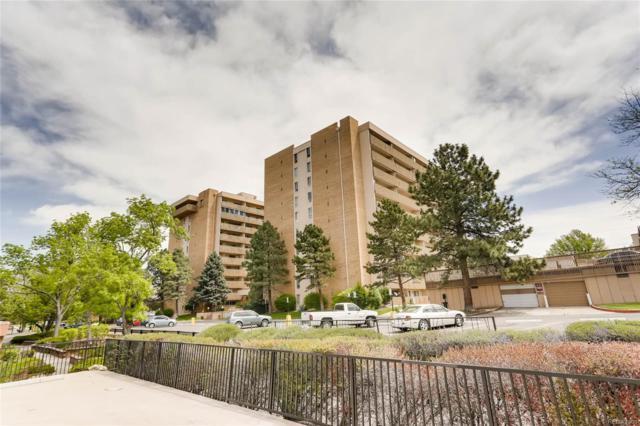 8060 E Girard Avenue #701, Denver, CO 80231 (#2441519) :: The Griffith Home Team