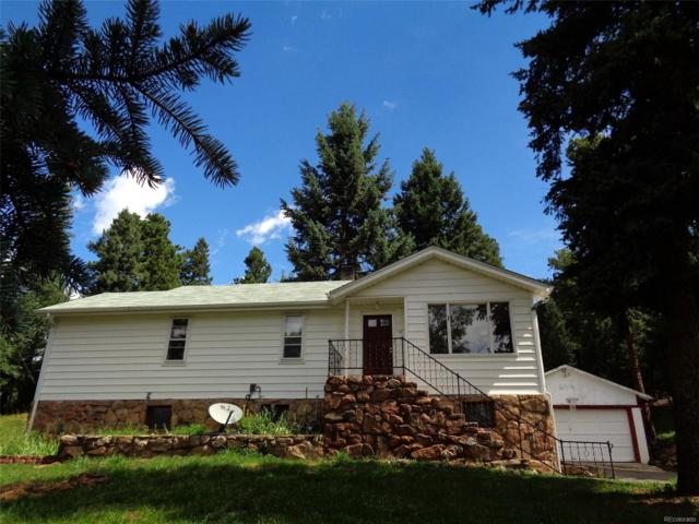 8430 S Blue Creek Road, Evergreen, CO 80439 (#2443540) :: The Peak Properties Group