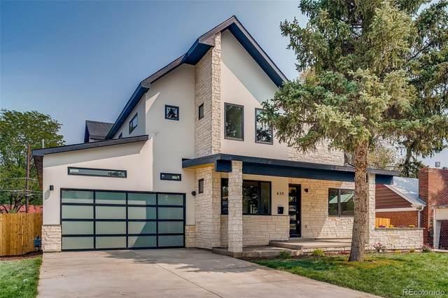 630 Pontiac Street, Denver, CO 80220 (#2443549) :: The HomeSmiths Team - Keller Williams