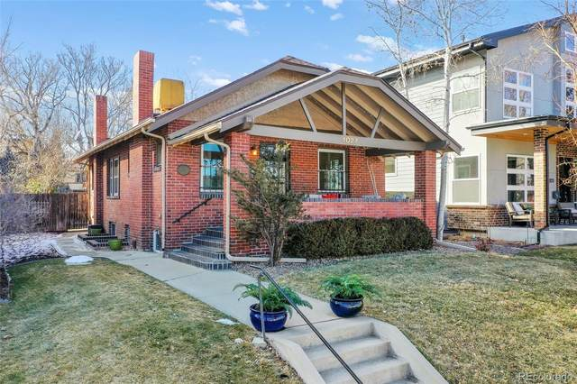 1027 Madison Street, Denver, CO 80206 (#2444609) :: The Dixon Group