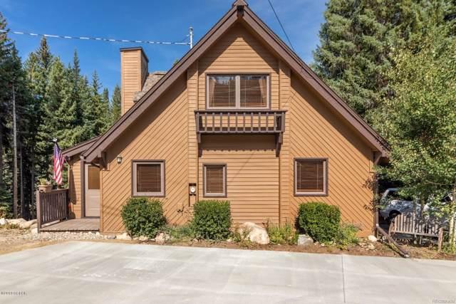 145 Arapahoe Road #101, Winter Park, CO 80482 (MLS #2447573) :: 8z Real Estate