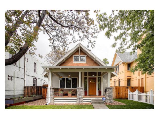 2808 N Lafayette Street, Denver, CO 80205 (#2448394) :: House Hunters Colorado