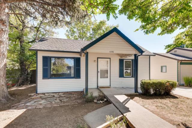 1276 Valentia Street, Denver, CO 80220 (#2450160) :: My Home Team