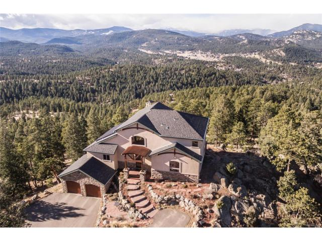 5075 Liberty Drive, Evergreen, CO 80439 (MLS #2450259) :: 8z Real Estate