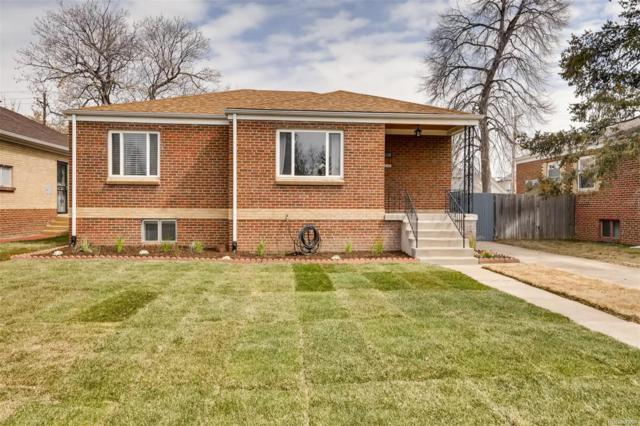 1160 Poplar Street, Denver, CO 80220 (#2452286) :: Venterra Real Estate LLC