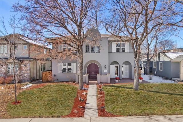 1635 S Madison Street, Denver, CO 80210 (#2453451) :: The HomeSmiths Team - Keller Williams