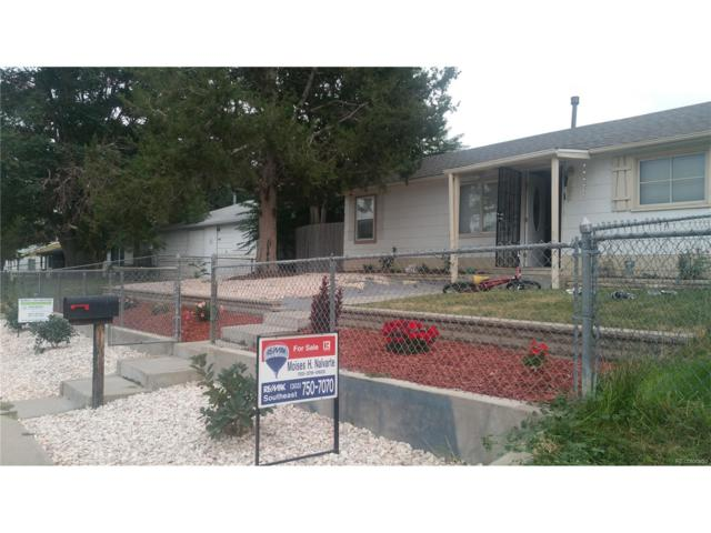 7090 Garden Lane, Commerce City, CO 80022 (#2462775) :: The Healey Group
