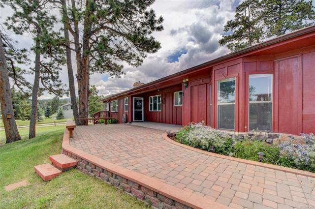 5129 S Greenwood Drive, Evergreen, CO 80439 (MLS #2463683) :: 8z Real Estate