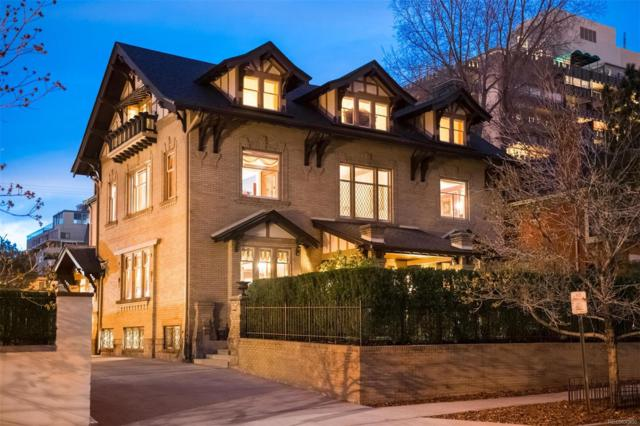 735 Clarkson Street, Denver, CO 80218 (#2467942) :: The City and Mountains Group