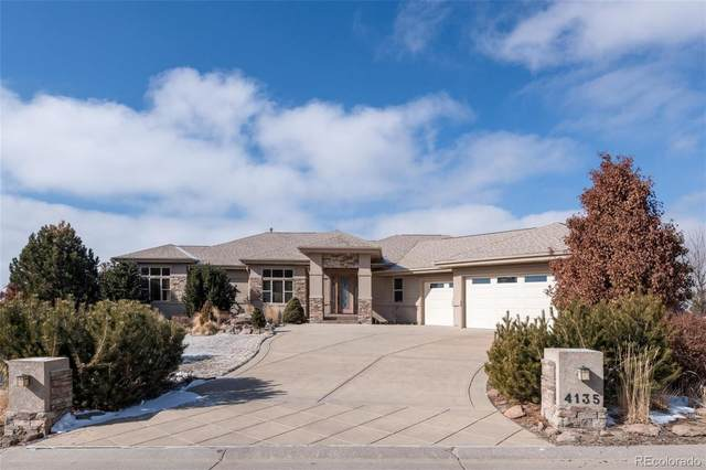 4135 Lions Paw Street, Castle Rock, CO 80104 (#2468272) :: The Gilbert Group