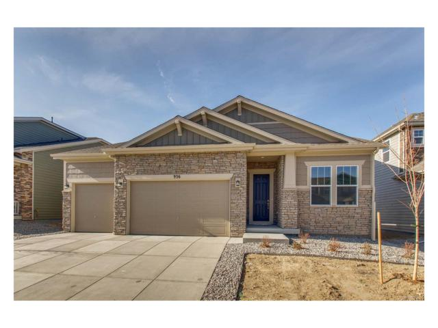936 Sundance Lane, Erie, CO 80516 (#2473411) :: The Dixon Group