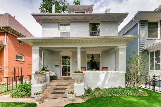 858 N Downing Street, Denver, CO 80218 (#2477938) :: The Galo Garrido Group