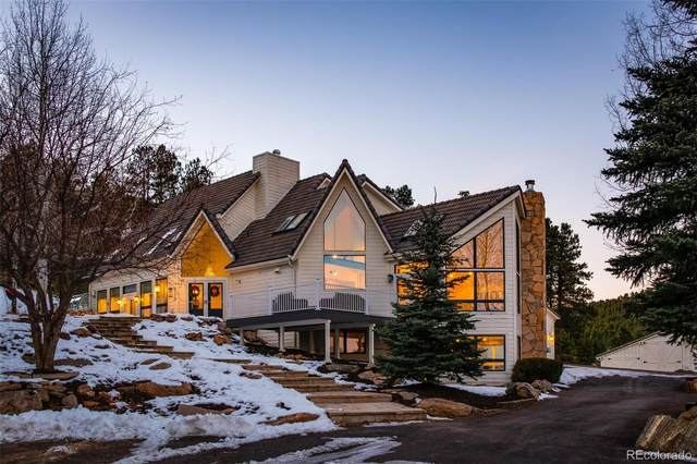 1791 Kerr Gulch Road, Evergreen, CO 80439 (#2479330) :: The Colorado Foothills Team | Berkshire Hathaway Elevated Living Real Estate
