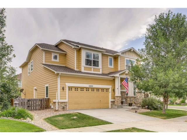 12422 E 106th Place, Commerce City, CO 80022 (#2483761) :: The Peak Properties Group