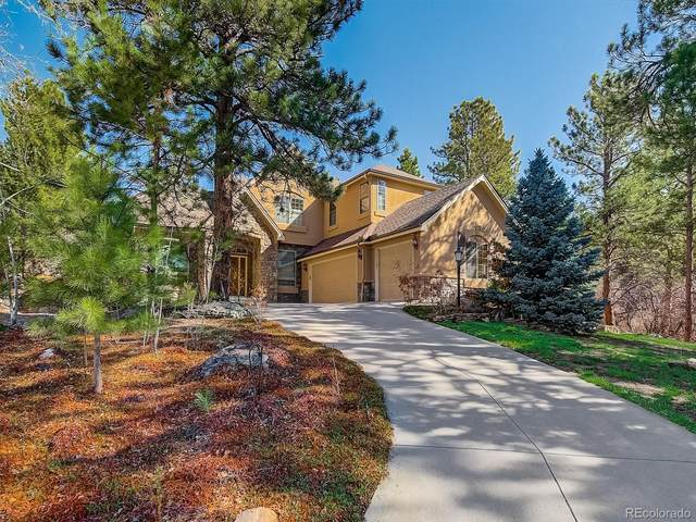 1247 Castle Grove Place, Castle Pines, CO 80108 (#2484866) :: Wisdom Real Estate
