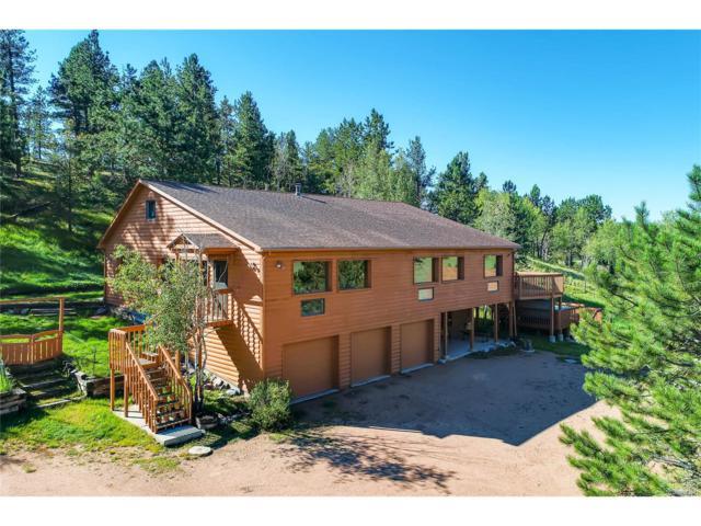 1306 Upper Twin Rocks Road, Florissant, CO 80816 (#2484868) :: The Peak Properties Group