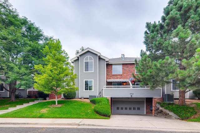 3924 S Dillon Way A, Aurora, CO 80014 (#2486580) :: The Peak Properties Group