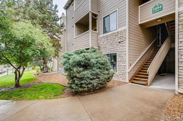 7394 S Alkire Street #205, Littleton, CO 80127 (#2488344) :: Bring Home Denver with Keller Williams Downtown Realty LLC