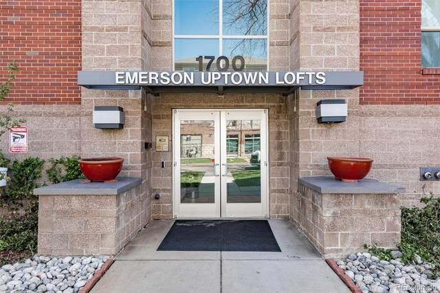 1700 N Emerson Street #409, Denver, CO 80218 (#2489998) :: The DeGrood Team