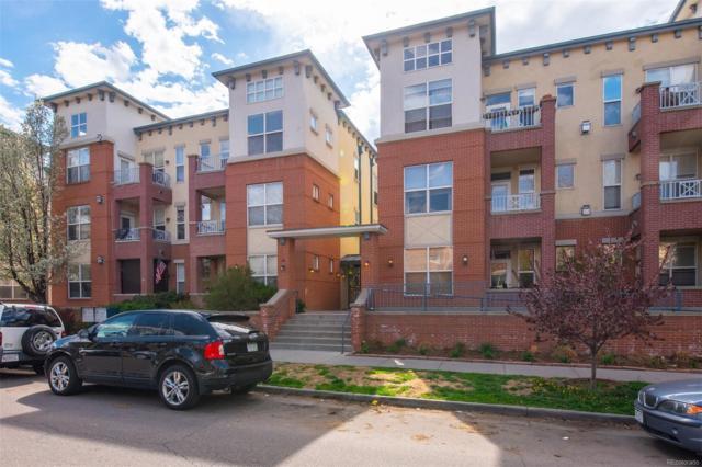 1747 Pearl Street #105, Denver, CO 80203 (#2490241) :: milehimodern