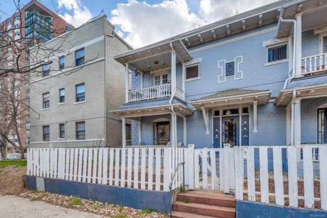 1209 Pearl Street #1, Denver, CO 80203 (#2492827) :: The Peak Properties Group