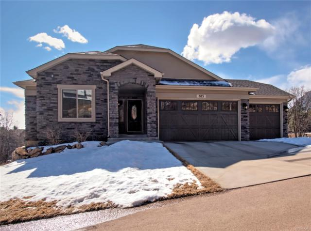 583 Mountain Pass View, Colorado Springs, CO 80906 (MLS #2493925) :: Kittle Real Estate