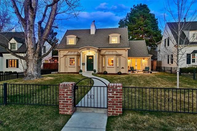 640 Eudora Street, Denver, CO 80220 (#2496546) :: Wisdom Real Estate
