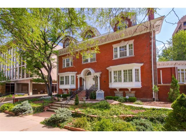 1350 N Logan Street, Denver, CO 80203 (#2498368) :: The Sold By Simmons Team