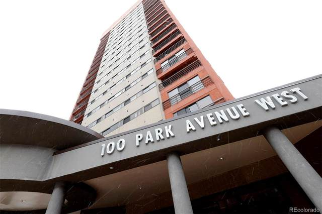 100 Park Avenue #206, Denver, CO 80205 (MLS #2498446) :: 8z Real Estate