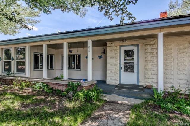 825 Denver Street, Calhan, CO 80808 (MLS #2501489) :: 8z Real Estate