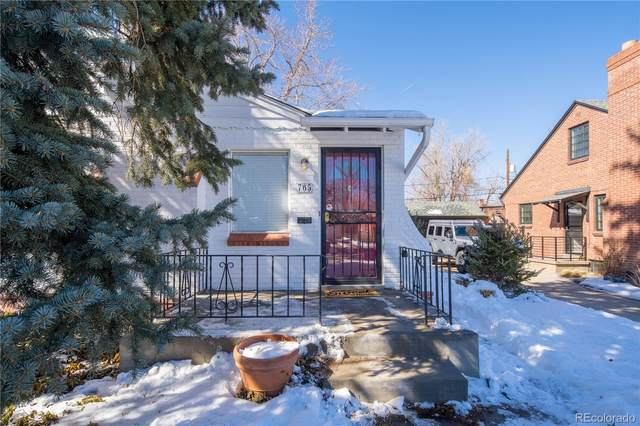 765 Forest Street, Denver, CO 80220 (#2510148) :: Berkshire Hathaway HomeServices Innovative Real Estate