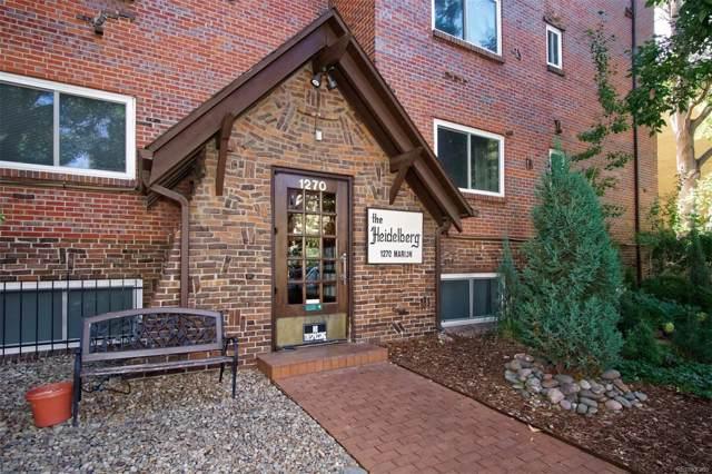 1270 N Marion Street #201, Denver, CO 80218 (MLS #2514338) :: 8z Real Estate