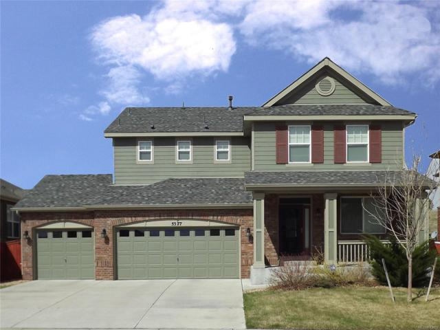 5377 S Elk Way, Aurora, CO 80016 (#2516069) :: The Pete Cook Home Group