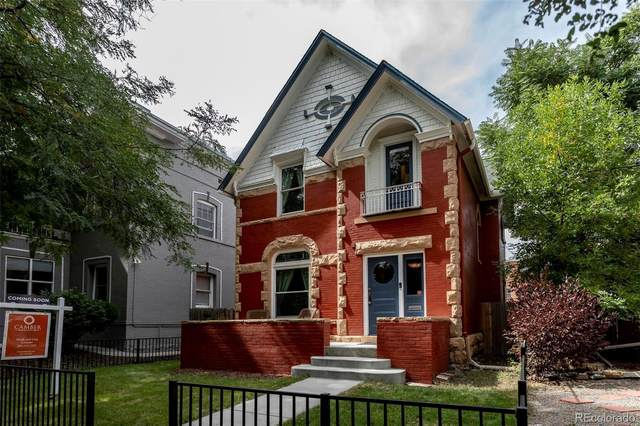 1221 N Lafayette Street, Denver, CO 80218 (#2518586) :: The Griffith Home Team