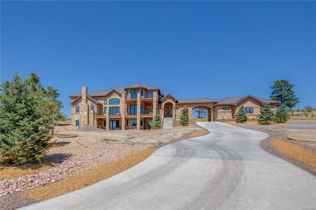 9877 Red Current Place, Parker, CO 80138 (#2520438) :: The Griffith Home Team