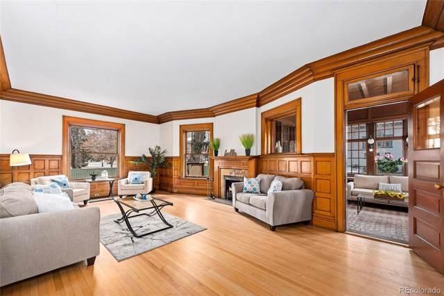 1401 N Franklin Street #1, Denver, CO 80218 (MLS #2524625) :: Kittle Real Estate