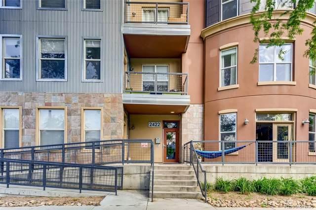 2422 Tremont Place #203, Denver, CO 80205 (MLS #2525380) :: Wheelhouse Realty