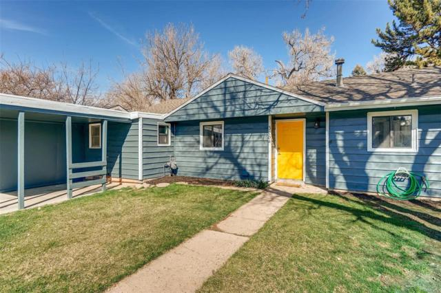 3164 S Forest Street, Denver, CO 80222 (#2528098) :: Compass Colorado Realty