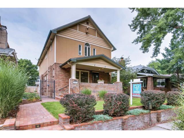 849 Garfield Street, Denver, CO 80206 (#2529044) :: Wisdom Real Estate