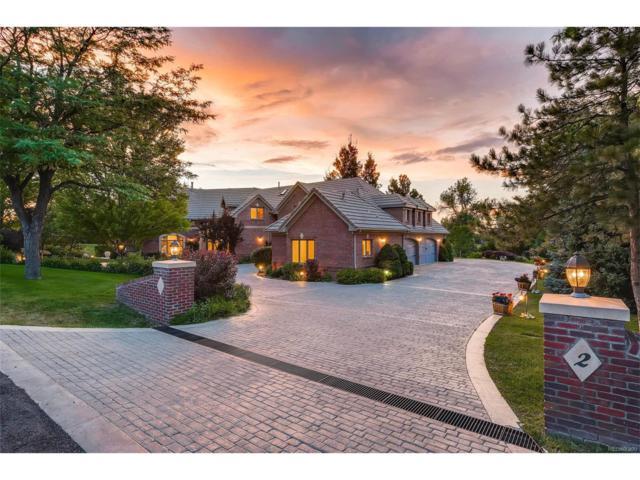 2 Countryside Lane, Cherry Hills Village, CO 80121 (MLS #2532182) :: 8z Real Estate