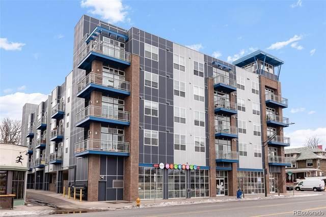 1488 Madison Street #309, Denver, CO 80206 (#2532347) :: The Margolis Team